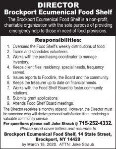 Brockport Ecumenical 2x4