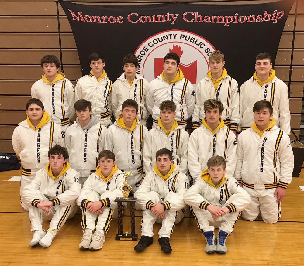 Rangers Monroe County Champs