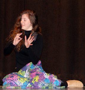 """Danielle Wegman performs """"Hidden Colors."""""""