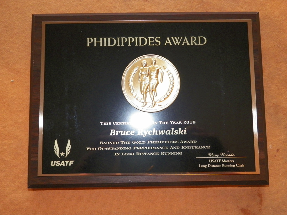 The Phidippides Award.
