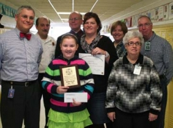 brockport students are fire prevention essay contest winners    provided photo fifth grader kathryn crissman shows off the fourth place plaque and    check she received for her winning fire prevention essay